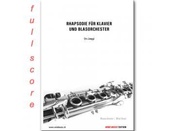 Rhapsodie für Klavier und Blasorchester