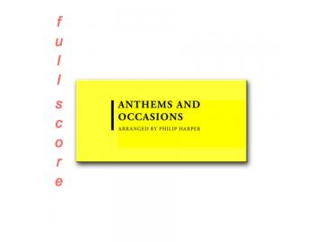 Anthems and Occasions (Full Score)