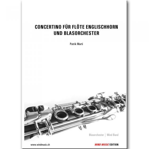 Concertino für Flöte, Englischhorn und Blasorchester