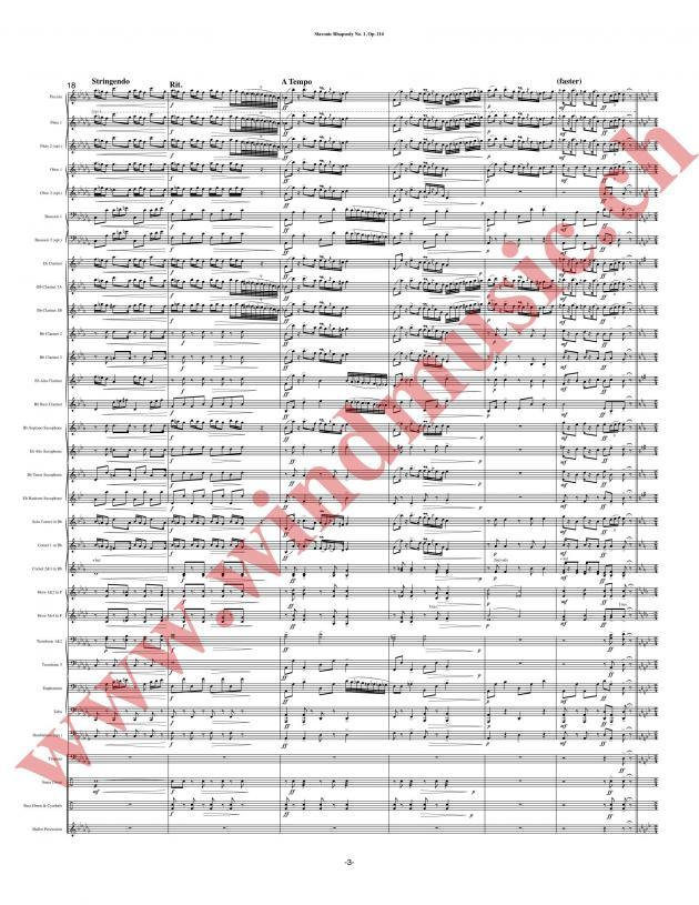 Slavonic Rhapsody No. 1