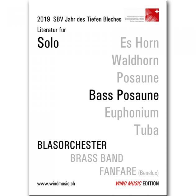 Konzertstück für Bass Trombone a. Wind Band