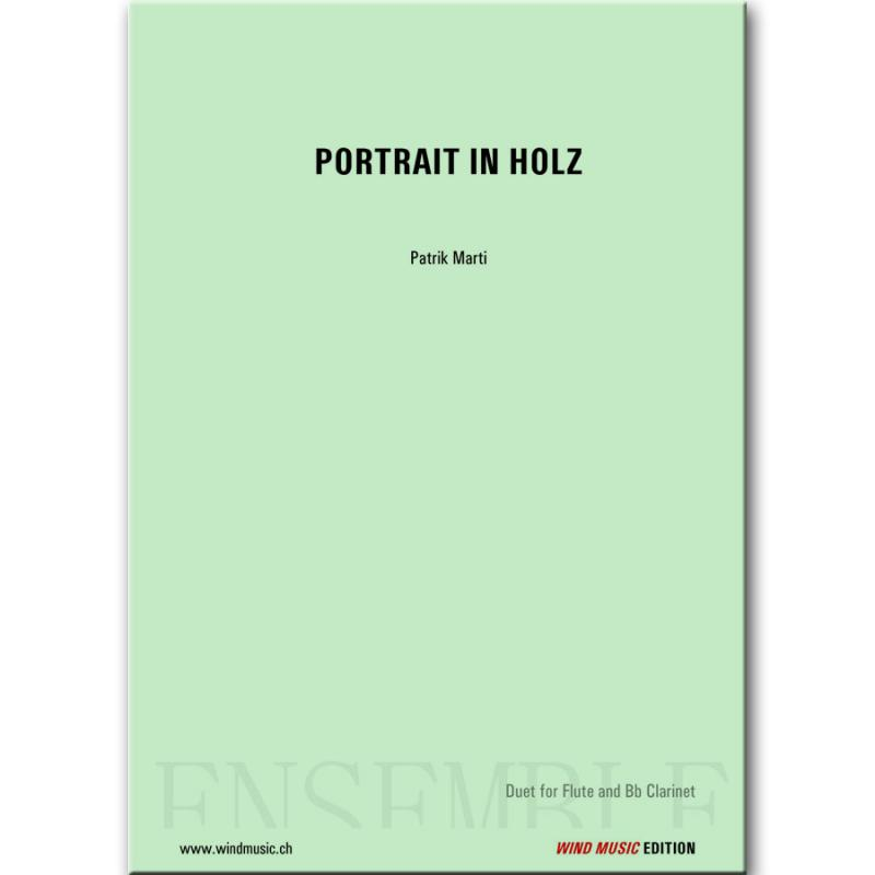 Portrait in Holz