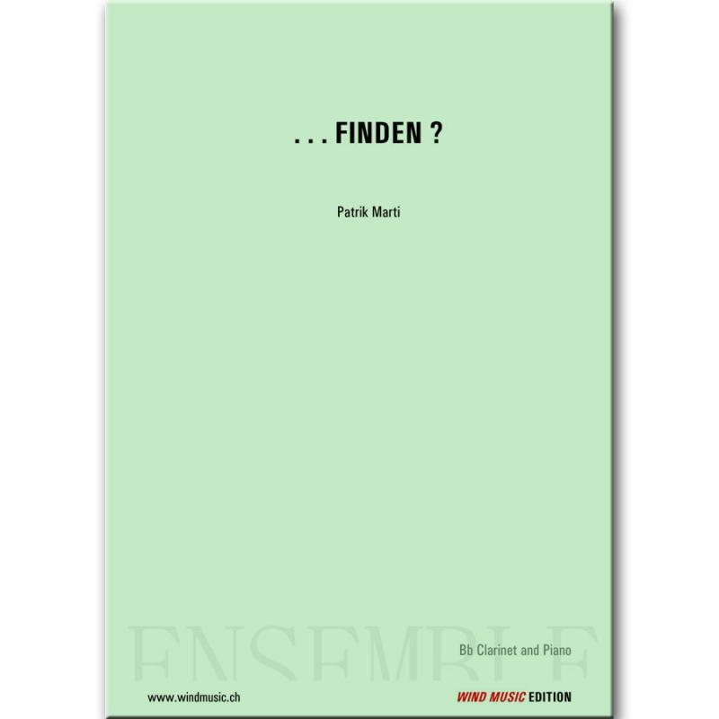 . . . finden ?