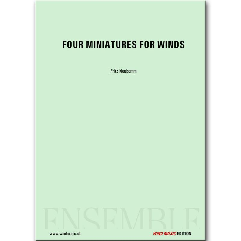 Four Miniatures for Winds